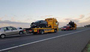 bergin autos, berging vrachtauto, berging bus, Groningen, afslepen, incident management